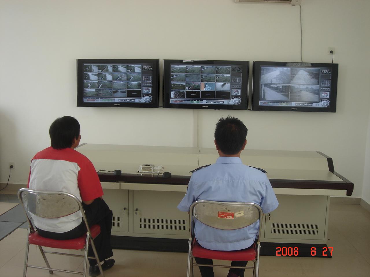 天马汽车集团新厂区监控系统